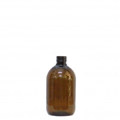 Φιάλη πλαστική pet καραμελέ tondo 200ml pp24
