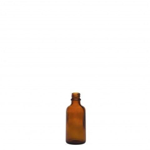 Φιάλη γυάλινη καραμελέ tondo 50ml din18