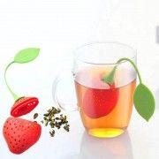 Σουρωτήρι τσαγιού σε σχήμα φράουλας