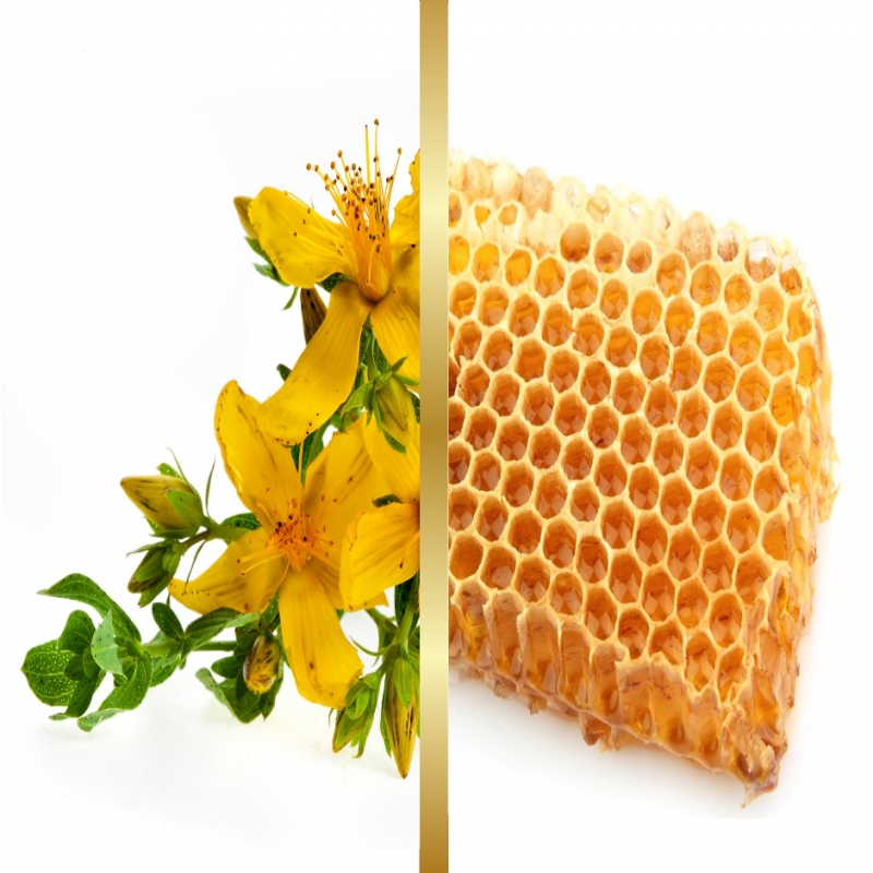 Σαπούνι Ελαιόλαδου Μελισσοκέρι & Βαλσαμόχορτο
