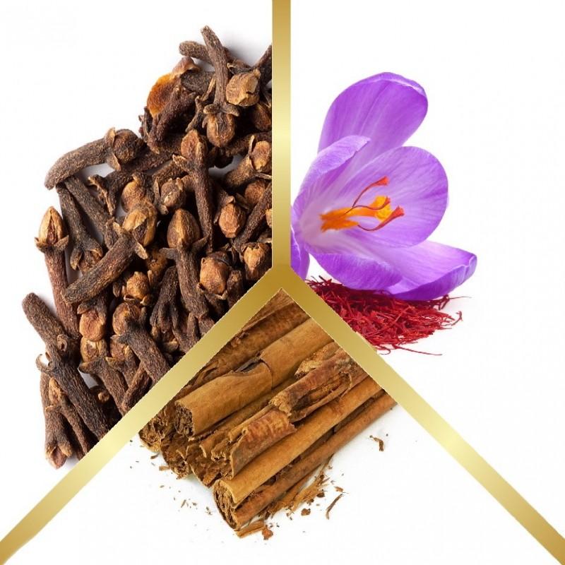 Μίγμα Βοτάνων Κανέλα Κεϋλάνης, Κρόκο Κοζάνης & Γαρύφαλλο σε εμβαπτιζόμενα φακελάκια