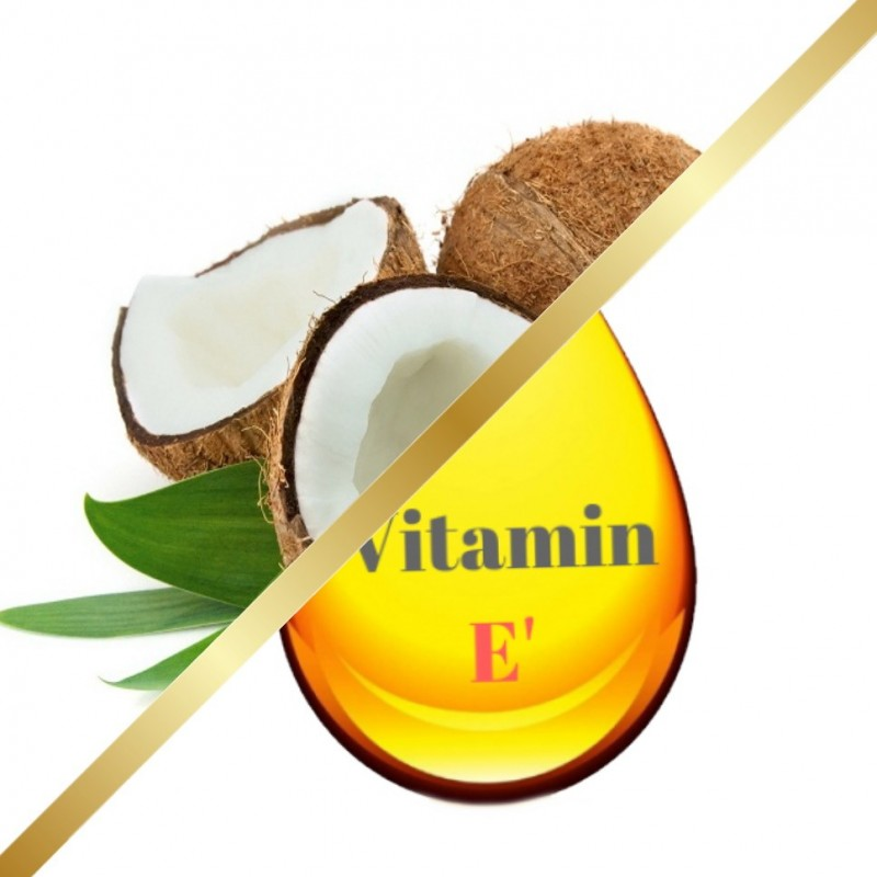 Καρύδα Έλαιο με βιταμίνη Ε