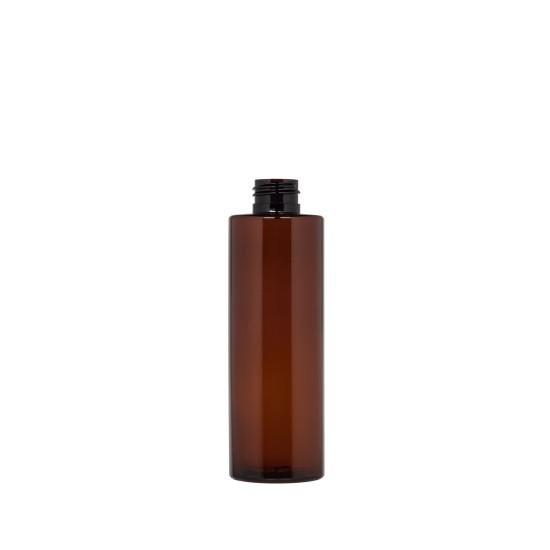 Φιάλη πλαστική pet καραμελέ tondo 100ml pp24
