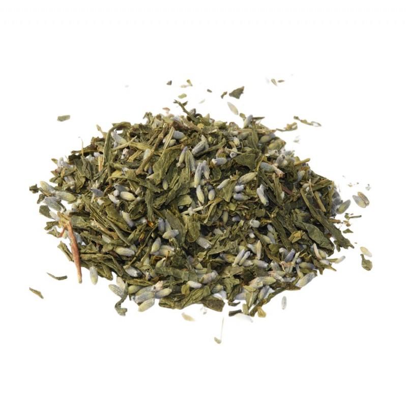 Πράσινο Τσάι Sencha με Λεβάντα